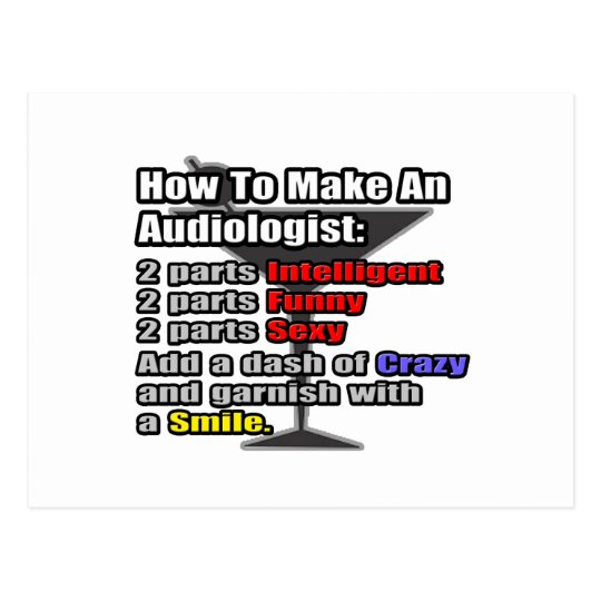 How To Make an Audiologist Postcard