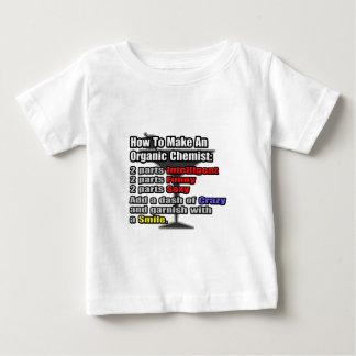 How To Make an Organic Chemist Baby T-Shirt