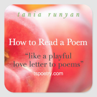 How to Read a Poem stickers