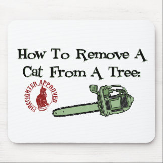 How to Remove a Cat from a Tree Mouse Pads