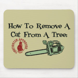How to Remove a Cat from a Tree Mousepads