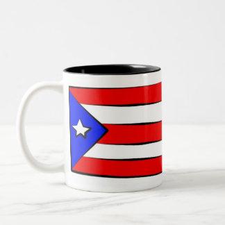 How to Speak Puerto Rican Two-Tone Mug