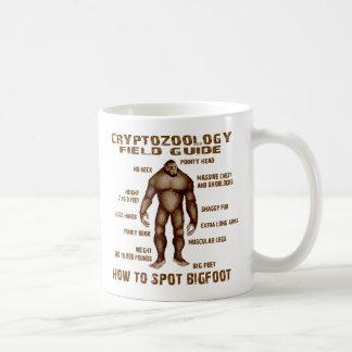 HOW TO SPOT BIGFOOT - Cryptozoology Field Guide Basic White Mug