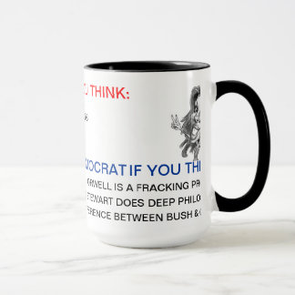 HOW TO TELL IF YOU'RE REPUBLICAN OR DEMOCRAT MUG