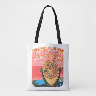 How Travelers See The World Tote Bag
