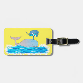 How Whales Have Fun Luggage Tag