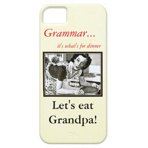 How you Should use a Comma Grammar Nazi Case Case For iPhone 5/5S