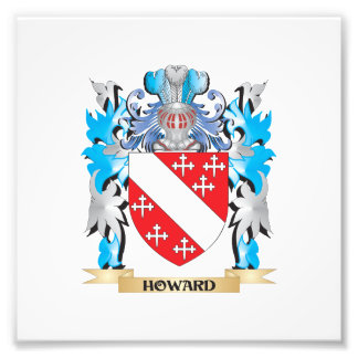 Howard Coat of Arms - Family Crest Photo