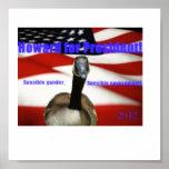Howard for President 2012 Poster