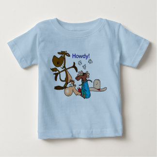"""""""Howdy"""" 6 month shirt"""