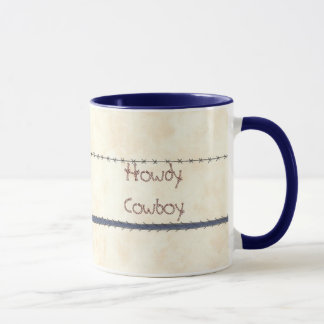 Howdy Cowboy Mug
