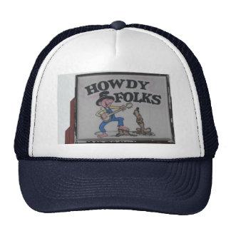 HOWDY FOLKS Hat