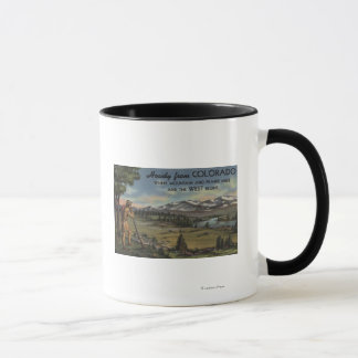 Howdy (Mountain & Prairie Scene) Mug