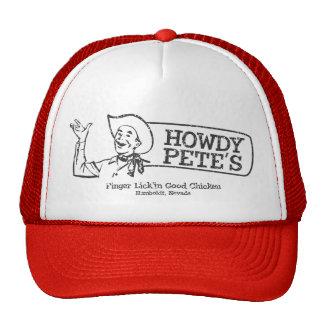 Howdy Pete's Restaurant (Vintage) Hat