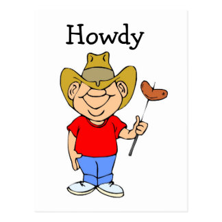 Howdy - Postcard