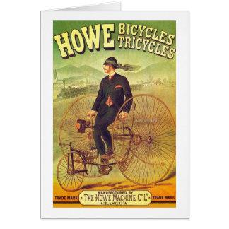Howe Bicycle Company Card