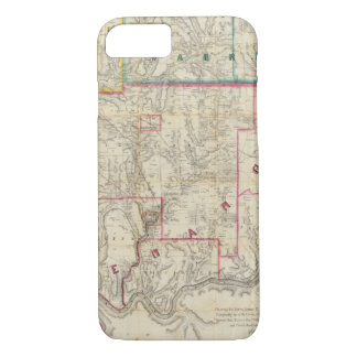 Howe's Map of The Oil District of Pennsylvania iPhone 8/7 Case