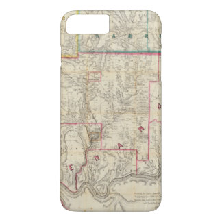 Howe's Map of The Oil District of Pennsylvania iPhone 8 Plus/7 Plus Case