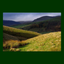 Howgills Light - Cumbria Poster