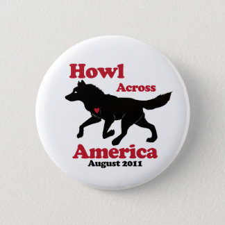 Howl Across America Button