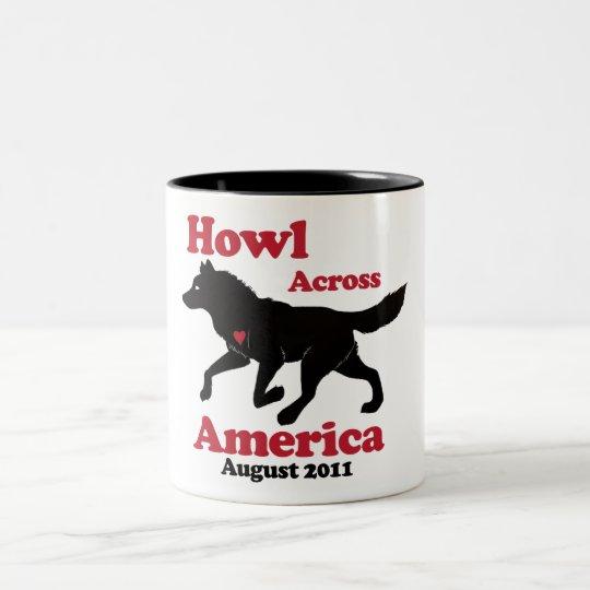 Howl Across America Mug