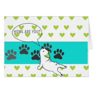 HOWL Are You? Frenchie Card