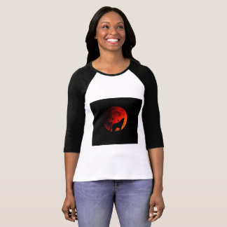 Howl at the Moon 3/4 Sleeve T-Shirt