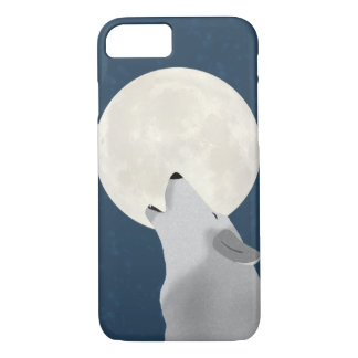 Howl At The Moon Apple iPhone 7, Barely There Case