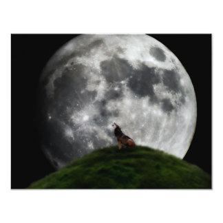 Howl at the moon card