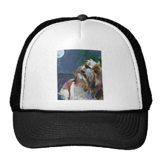 Howl at the moon trucker hats