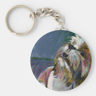 Howl at the moon key chains
