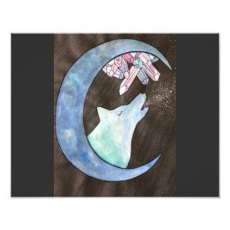 """""""Howl at The Moon"""" Photo Print"""