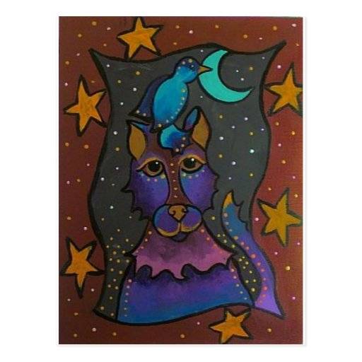 Howl at the Moon Postcards