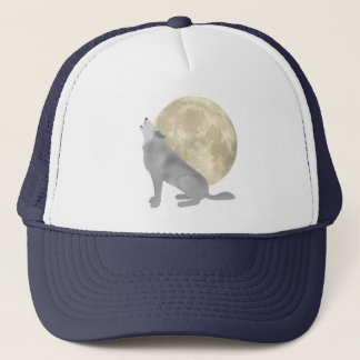 Howl At The Moon Trucker Hat