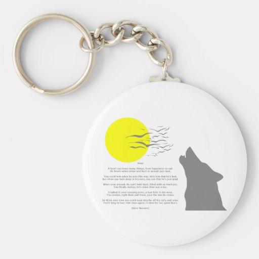Howl Keychain