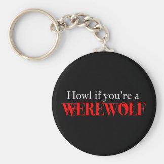 Howl Basic Round Button Key Ring