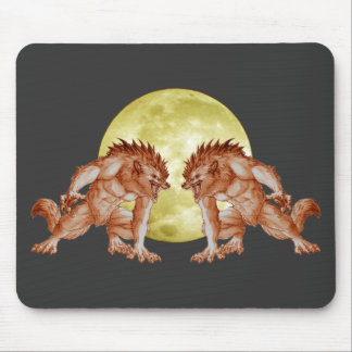 Howl of the Wolf Mouse Pad