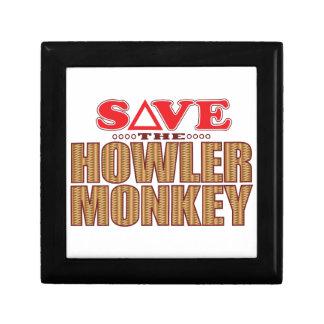 Howler Monkey Save Gift Box