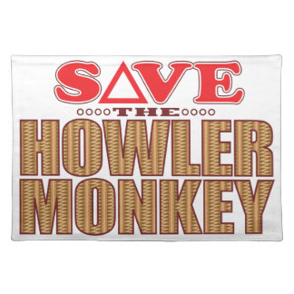 Howler Monkey Save Placemat