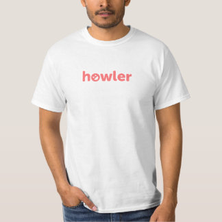 Howler Value T-Shirt, White T-Shirt