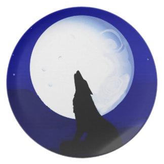 Howlin Coyote - Tucson Arizona Plate