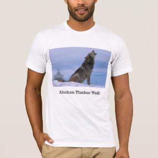 Howling Alaskan Timber Wolf T-Shirt