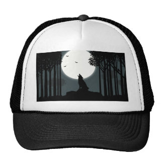 howling at the Moon Trucker Hat