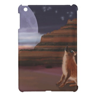 Howling at the Moon iPad Mini Cases