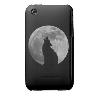 HOWLING AT THE MOON iPhone 3 CASE