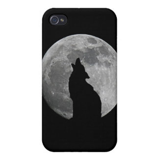 HOWLING AT THE MOON iPhone 4 CASE