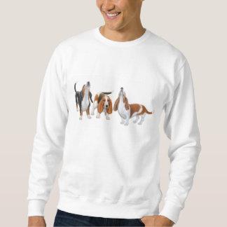 Howling Basset Hounds Sweatshirt
