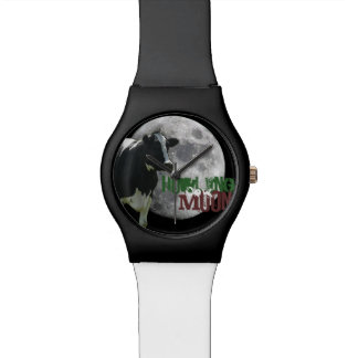 Howling Cow Moon Wristwatches