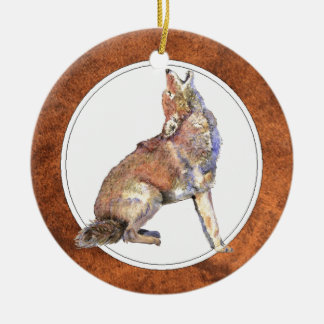 Howling Coyote, Animal, Wildlife Ornament