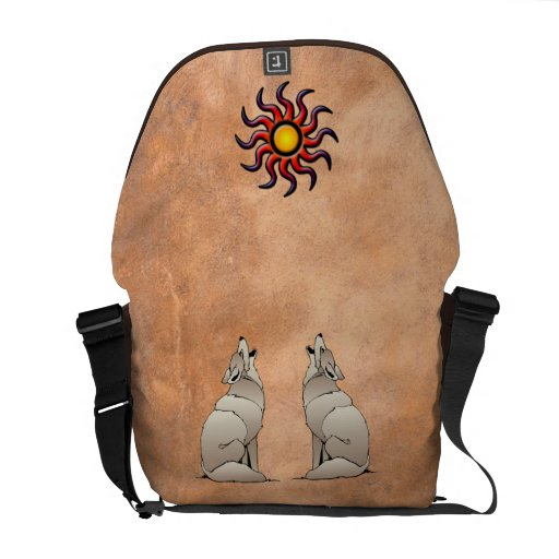 HOWLING COYOTE COURIER BAG